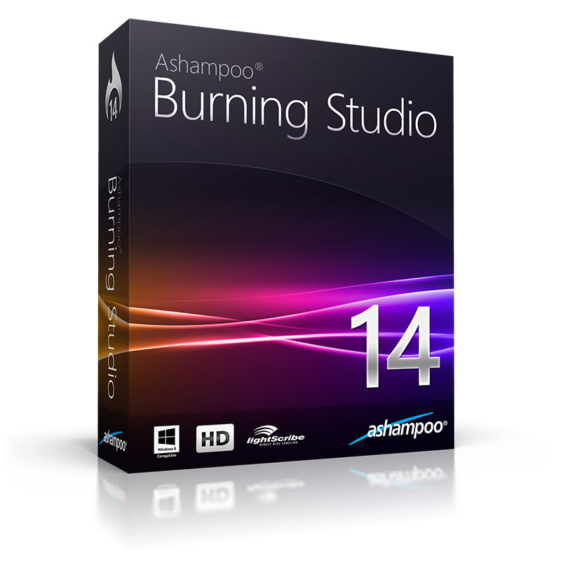 Ashampoo Burning Studio 14 v14.0.5 - Full S�r�m