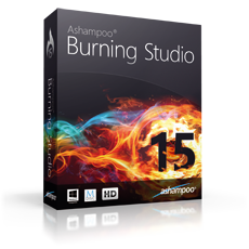 Boxshot Ashampoo® Burning Studio 15