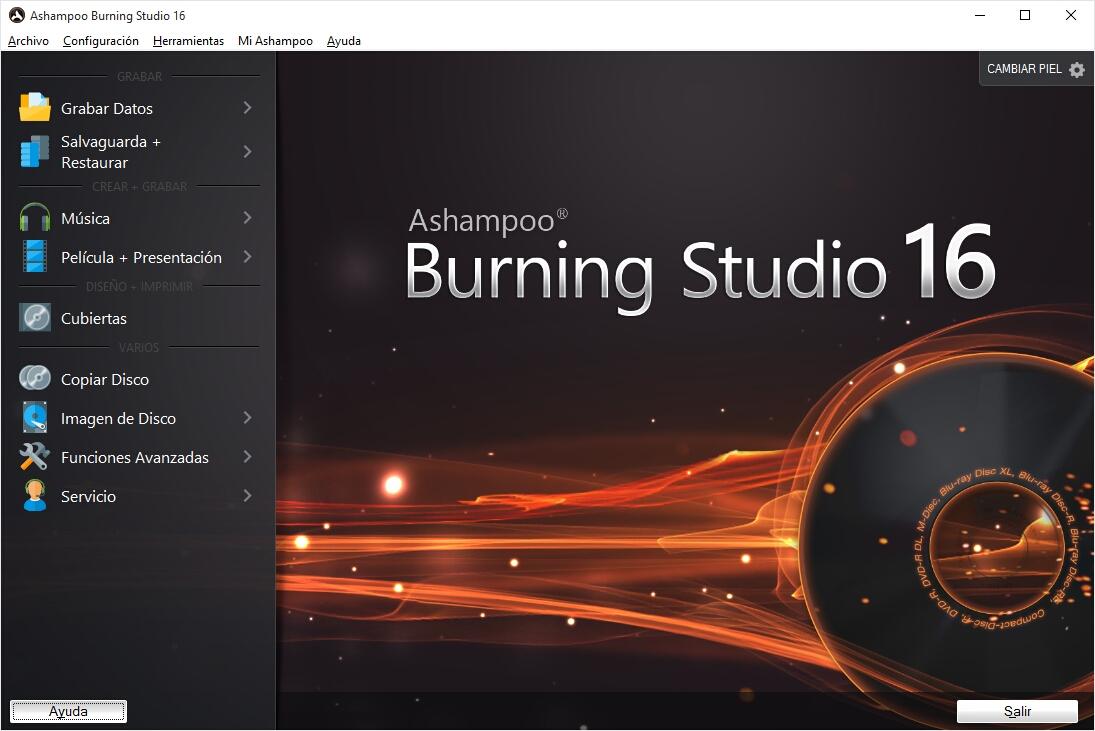 Ashampoo Burning Studio v16