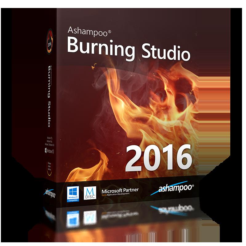 Ashampoo burningstudio 2016 mit keygens