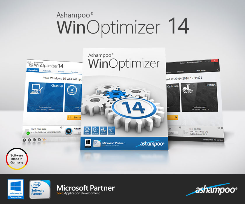 Ashampoo winoptimizer 10 01 03 multilanguage setup key