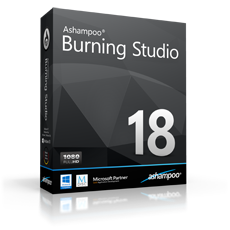 Boxshot Ashampoo® Burning Studio 18