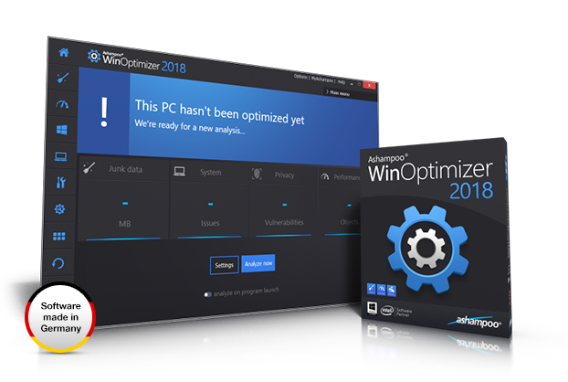 Ashampoo WinOptimizer 2018 full screenshot