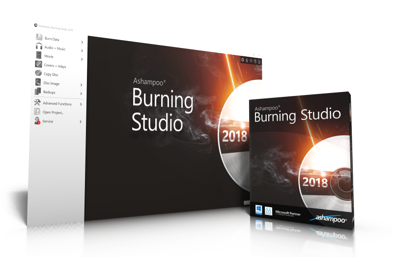 Ashampoo® Burning Studio 2018 - Overview