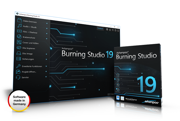 Resultado de imagen de Ashampoo Burning Studio 19