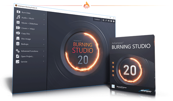 Burning Studio 20 Box & Screenshot