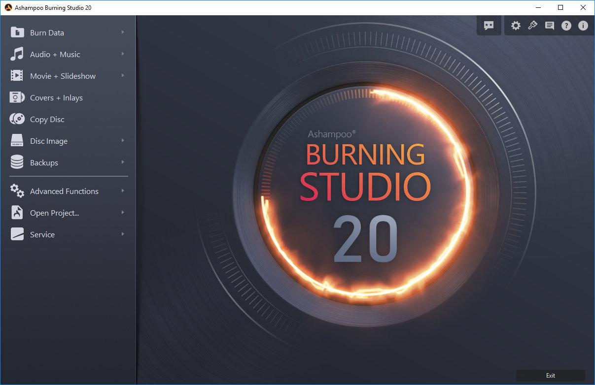 Resultado de imagen de Ashampoo Burning Studio 20