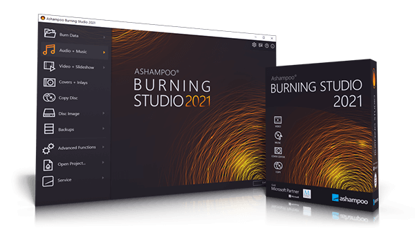 Burning Studio 2020 Box & Screenshot