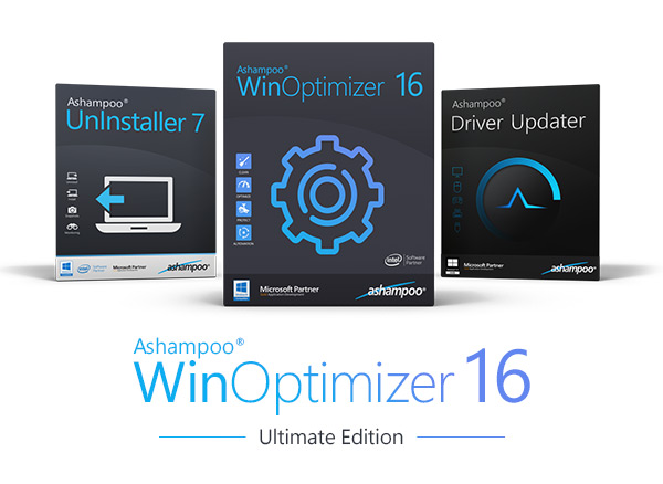 WinOptimizer 16 Ultimate Edition Boxen