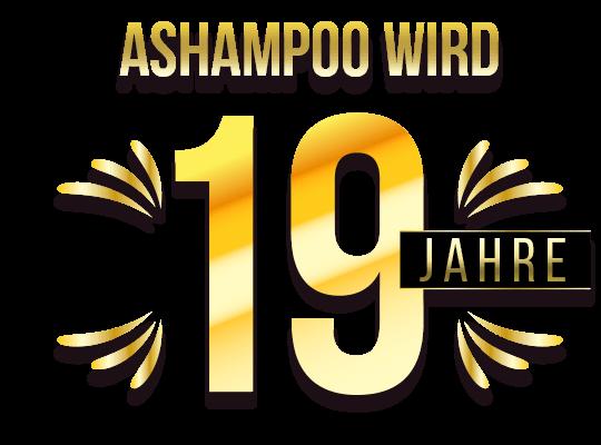 Ashampoo wird 19 Jahre!