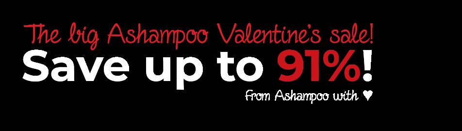 The big Ashampoo Valentine's sale!
