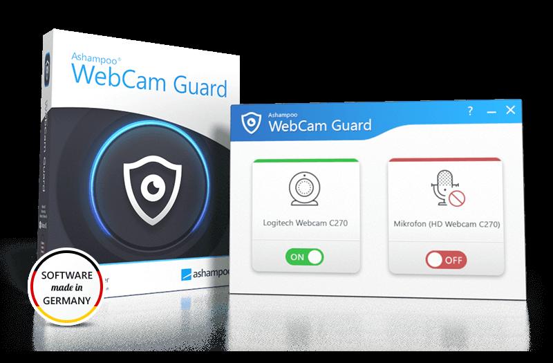 Ashampoo® WebCam Guard Box & Screenshot