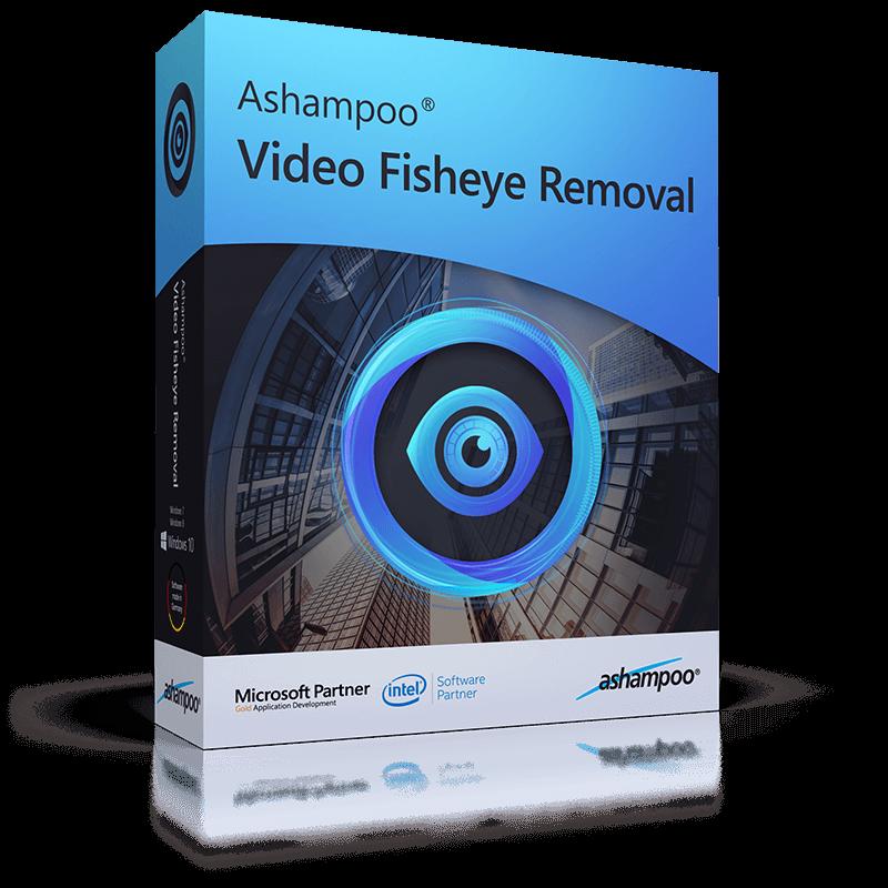 Ashampoo Video Fisheye Removal - Fisheye Correction Software