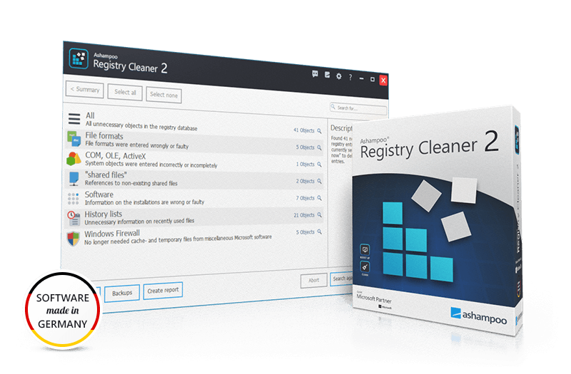 Screenshot Registry Cleaner