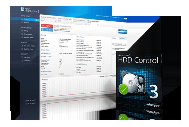 Windows 7 Ashampoo HDD Control 3 3.20.00 full