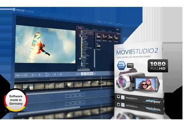 Windows 7 Ashampoo Movie Studio 2 2.0.15 full