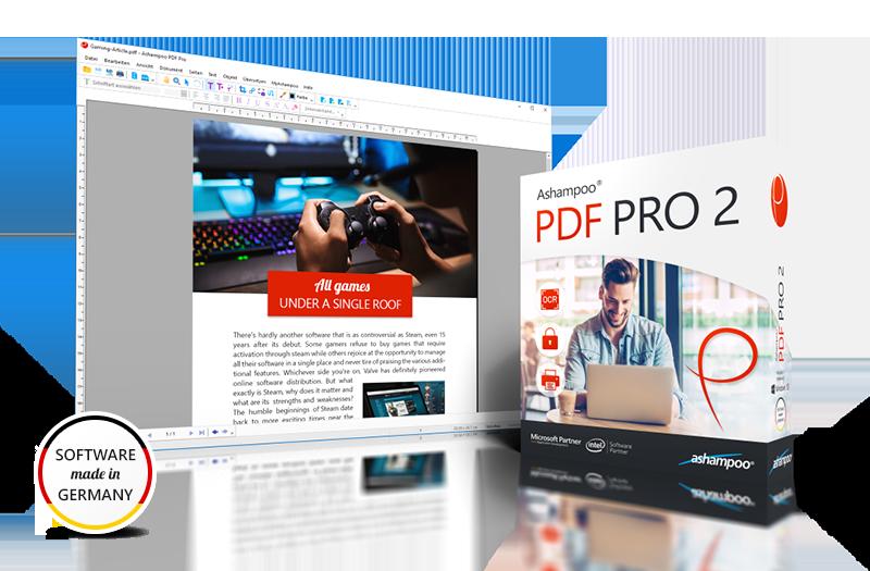 Ashampoo® PDF Pro 2 Screenshot