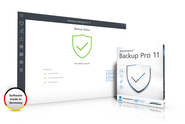 Ashampoo® Backup Pro 11 Screenshot