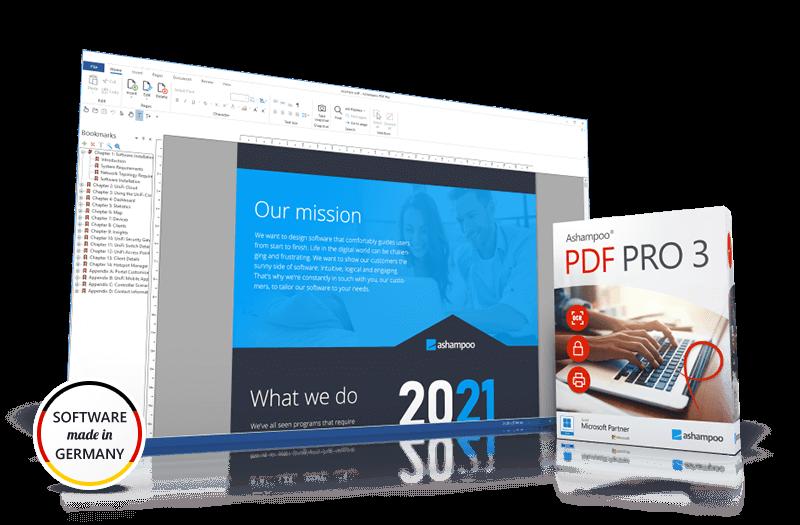 Ashampoo® PDF Pro 3 Screenshot