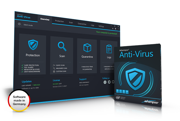 Ashampoo® Anti-Virus Screenshot