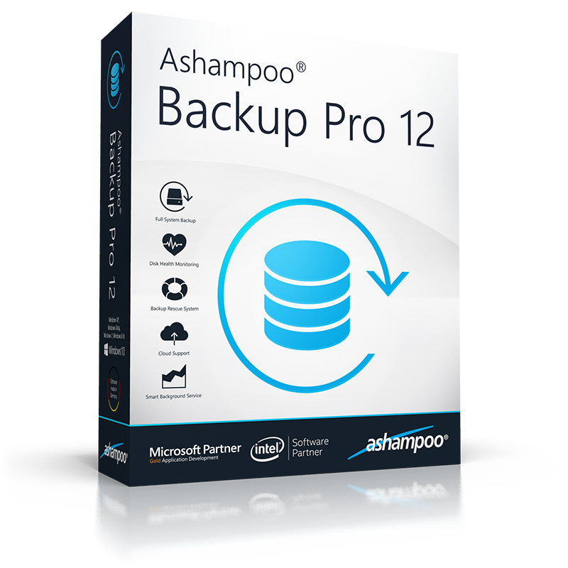 Ashampoo Backup Pro 12 - Best Backup Software for Windows