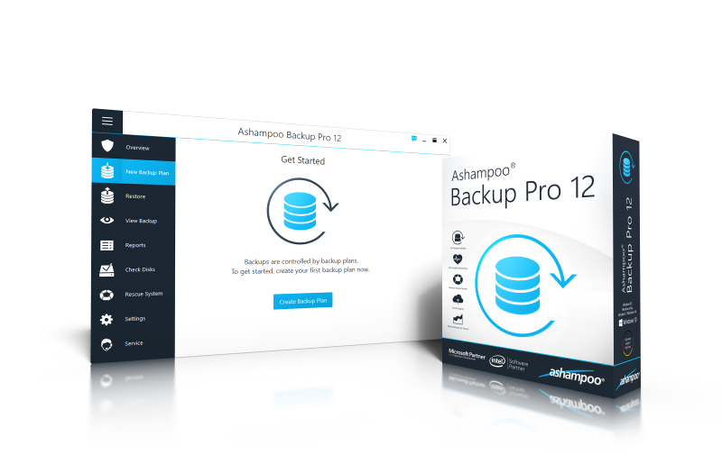 Ashampoo® Backup Pro 12 Screenshot
