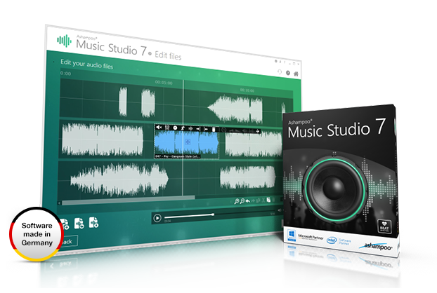 Ashampoo® Music Studio 7 Screenshot
