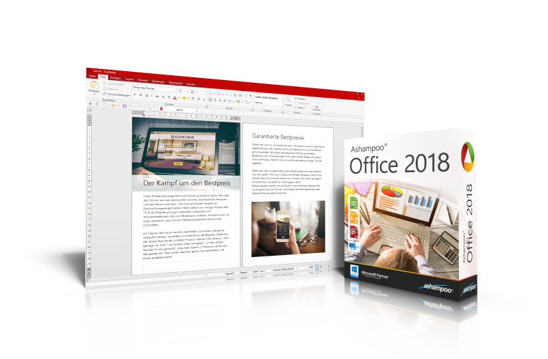 Ashampoo® Office 2018 Screenshot