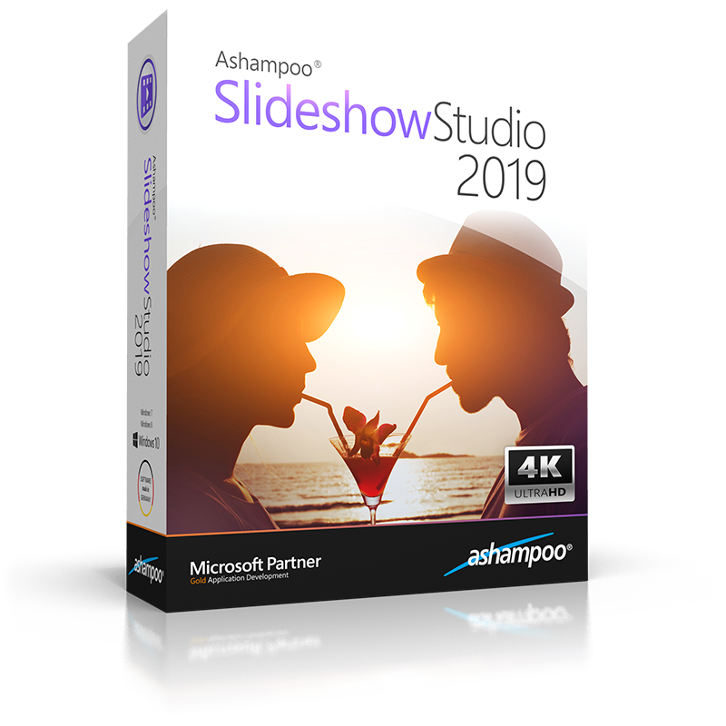 Ashampoo® Slideshow Studio 2019 - Create stunning slideshows with ease