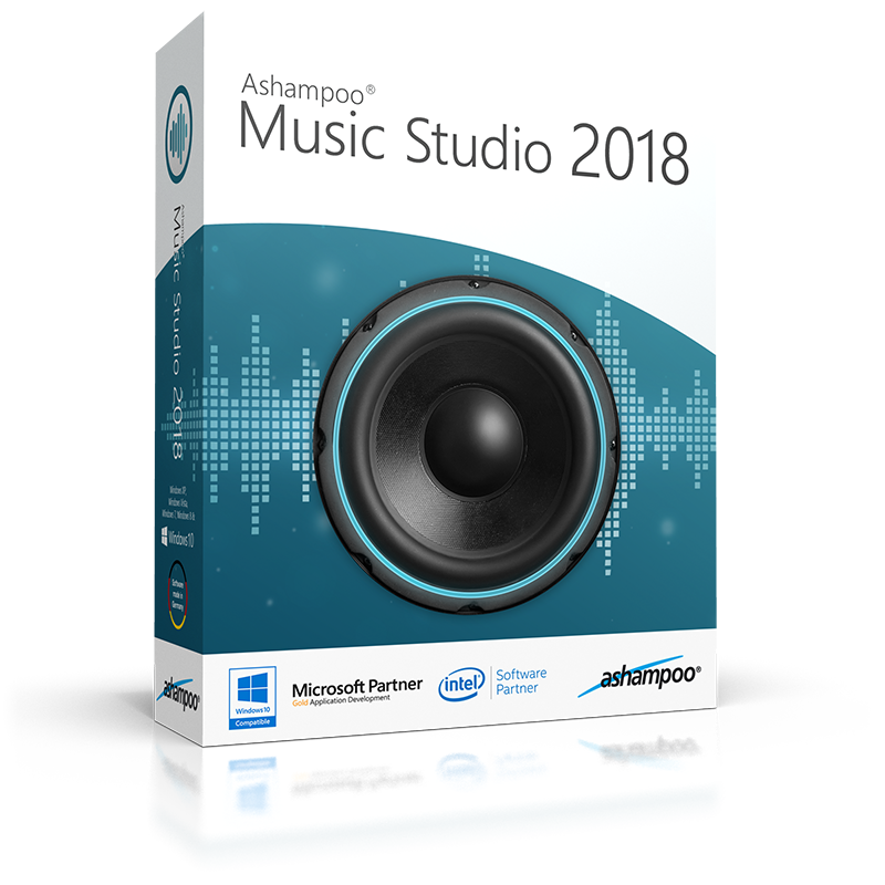 ashampoo music studio 2018 v.7.0.1