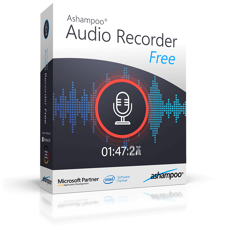 Ashampoo® Audio Recorder Free - Fast simple audio recording
