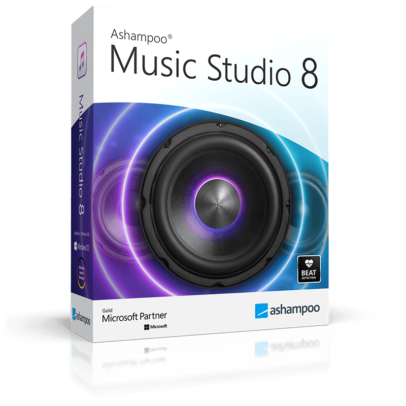 Ashampoo® Music Studio 8