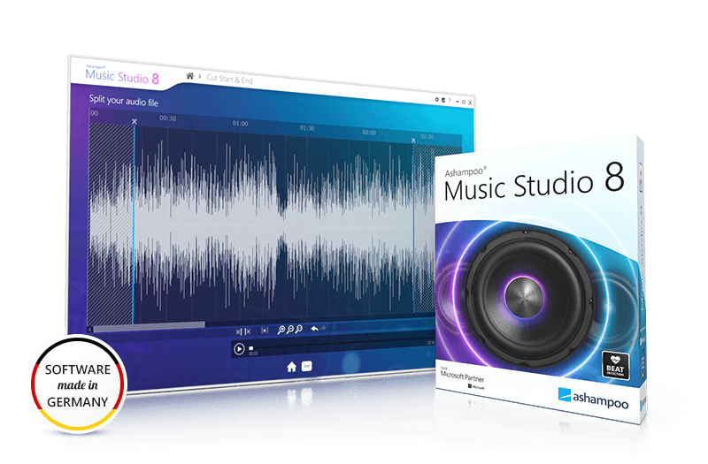 Ashampoo® Music Studio 8 Screenshot