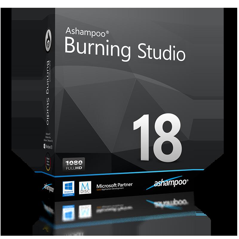 ashampoo burning studio 18 free download full version
