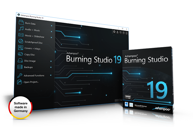 Ashampoo® Burning Studio 19 Screenshot