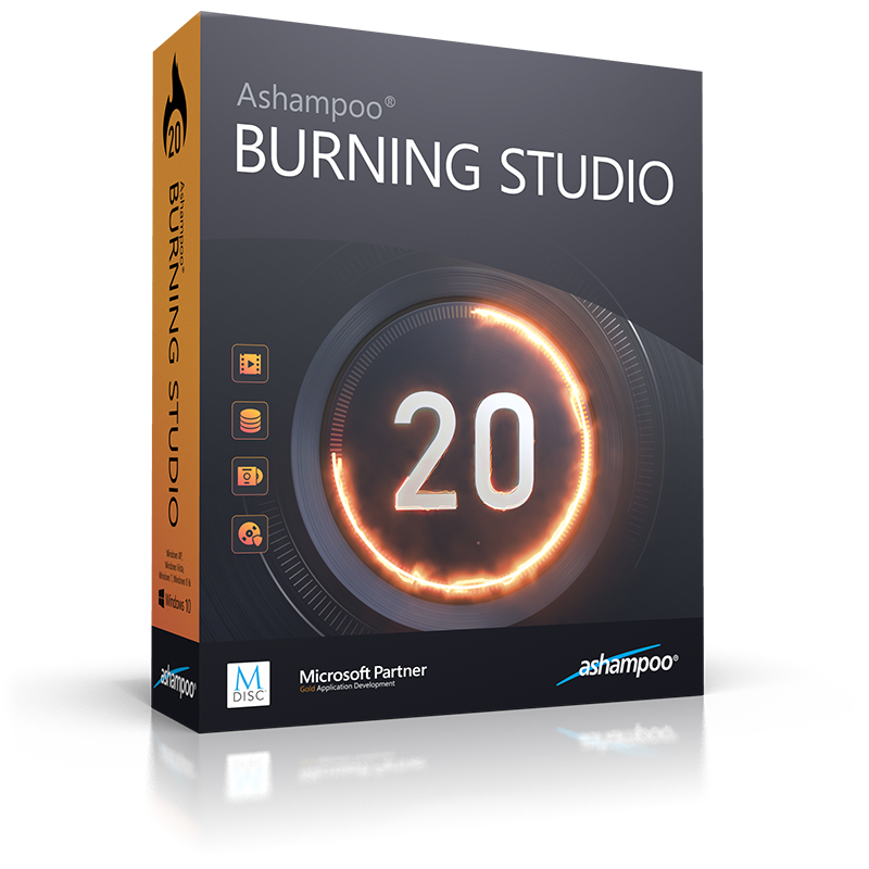 Ashampoo Burning Studio 20 - Burning Software for CDs, DVDs, Blu-ray
