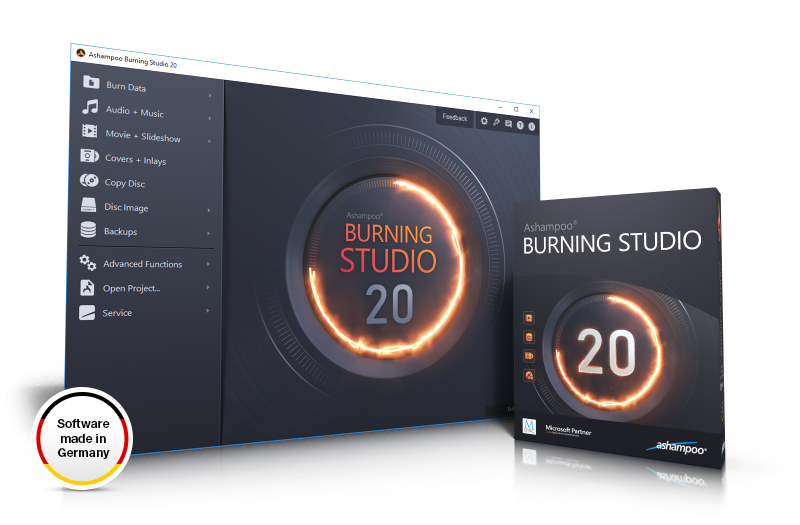 Ashampoo® Burning Studio 20 Screenshot