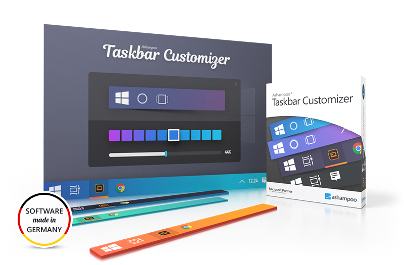 Screenshot Ashampoo® Taskbar Customizer