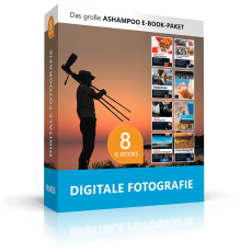 Sichern Sie sich über 2450 Seiten Top-Fachwissen für Hobby-Fotografen & Fortgeschrittene in einem Paket
