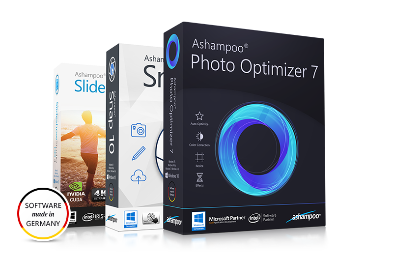 Ashampoo® Multimedia Bundle 11 Screenshot